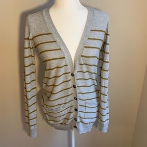 Madewell Size Small V-Neck Button Cardigan